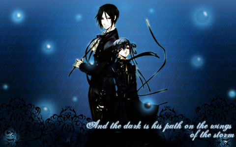 From Kuroshitsuji.On of my fav background ever!!