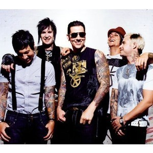 Avenged Sevenfold, i never get bored of their songs, though it would be really hard to live without metallica too