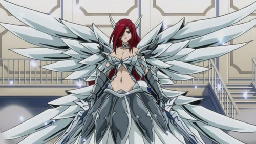 "Erza ""Titania"" Scarlet from Fairy Tail in her Heaven's Wheel Armor"