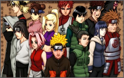 Naruto and Naruto Shippuden! <3 <3 <3