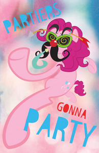 omfg id be pinkie pie she's so crazy oisahd just how great would it be to be a گلابی ٹٹو and have so much energy and party 24/7 and do things others cant like walk in mid air and have seven legs jfc