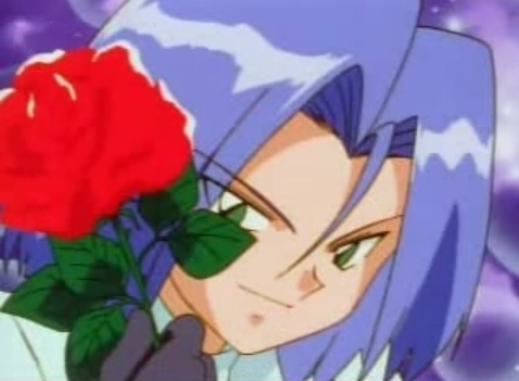 My first Anime crush was James from Pokemon and I still Liebe him~
