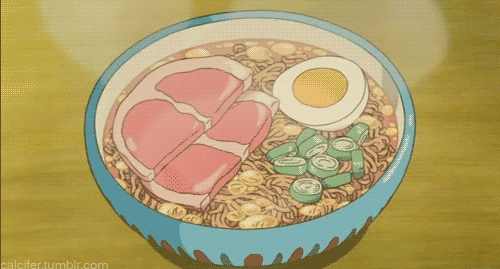 I guess I would have to say [b]Naruto Shippuden[/b] because I learned how to make the ultimate ramen! ^~^ and now I eat ubi ramen, ingatan capaian rawak all the time!! (I really did not know what all I could add like that until I started paying lebih attention) and it increased my desire to learn. :)