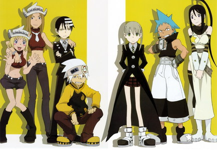 soul eater would be a good one also reborn