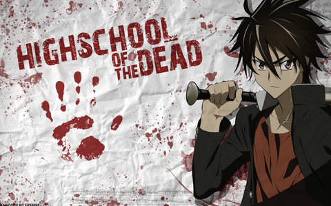 you can see highschool of the dead ( zombies ) , another (supernatural , horror ) , supernatural the anime (all about supernatural ) or XxX holic ( ghosts and supernatural )