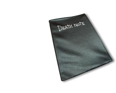 i would cinta to have a death note to write the names of the bad people in it >:)