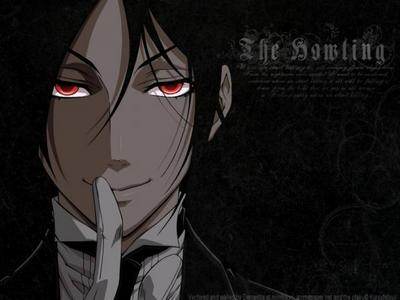 Well Sebastian has red eyes! ^-^