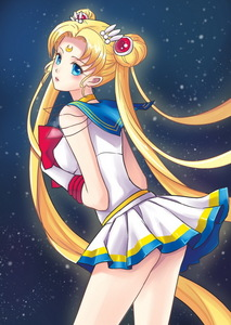 me and sailor moon are both named serena, in the dub at least ^^