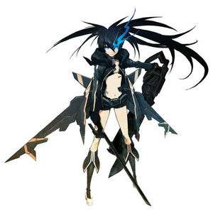 The character from Black Rock Shooter game seems to have the same name as me, Stella.