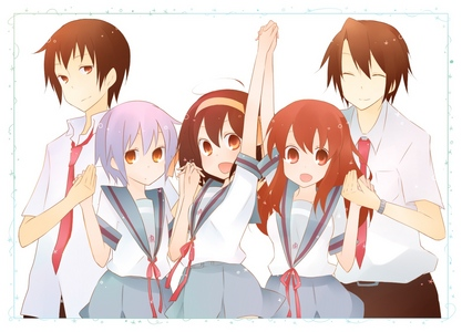 This. I like them like a team, not divided!The Melancholy of Haruhi Suzumiya!