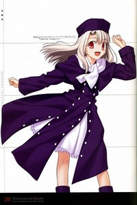 Illyasviel Von Einzbern from Fate/Stay Night