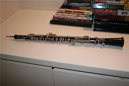 This is my oboe that I got about 4 years ago. I've been on here for a while. 0.0