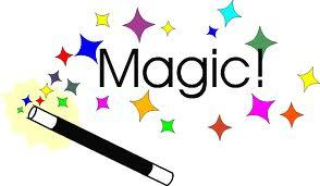 It stands for 'It's Magic!!!!'