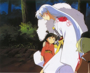 Hm, probably when Sesshomaru saved Rin, when seeing it for the first time. I was really surprised and excited, and just plain ecstatic having just suspected Sesshomaru was no mere villain that to have the evidence play out before my eyes was enthralling. I loved it.