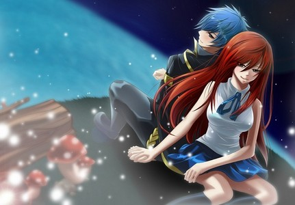 Fairy Tail Erza and Jellal~