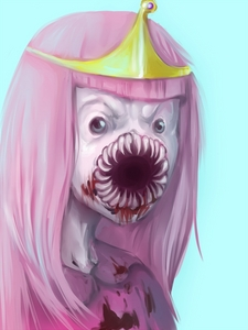 Can it be anime? If so, Soul Eater, if not.... ADVENTURE TIME! Princess Bubblegum, looking dapper as always.