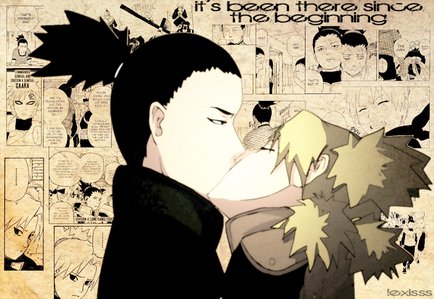 Nara Shikamaru and Temari, picture sa pamamagitan ng Lexiss.