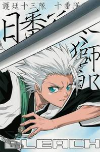 The 3rd letter is T so i chose: Toshiro from Bleach