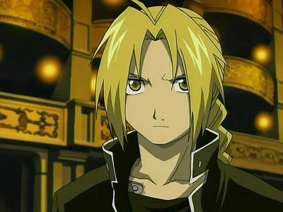 I'm a total Edward Elric. I'm short, quick tempered, and a bit awkward with displaying emotions.