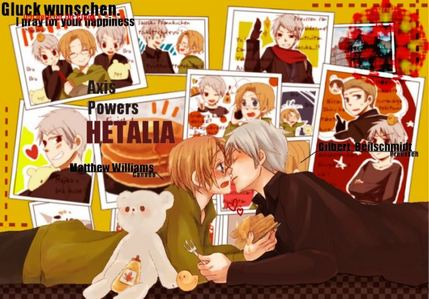 There's actually a place, I think it's a large city, in Canada called New Prussia. That's probably where he went. PruCan for the win!!! Cuz seriously, who needs historical evidence atau on-screen encounters to pair countries?
