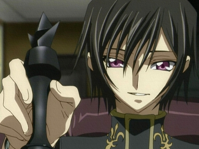 my third letter is L(デスノート) Lelouch :)