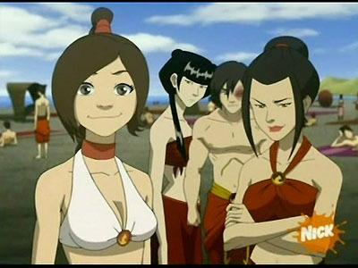 TyLee and Azula and Mai and ZUKO