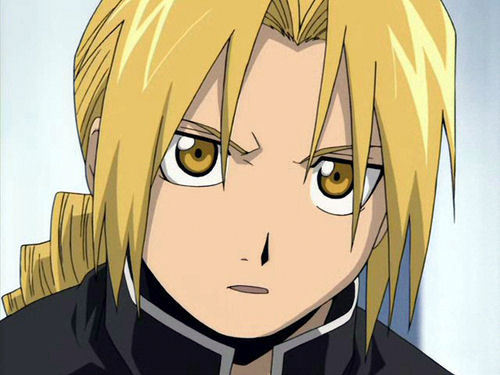 Edward Elric. He's a lot like me and i just find him so cute and awesome!