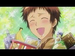 Hinata! from Maid-Sama!! I dont understand how he is not fat!! ....or has diabetes ^.^