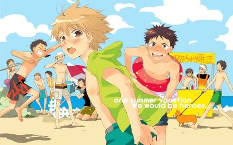 here ya go ;) the characters of ookiku furikabutte.