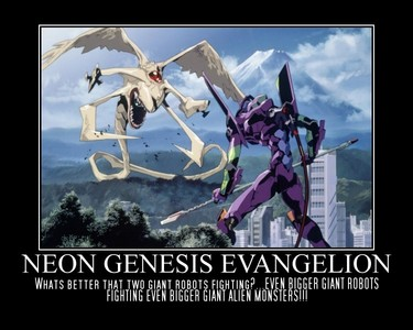 Neon Genesis Evangelion. It's supposedly really good but it's really bad at least to me.
