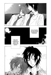 This is from my current お気に入り manga~