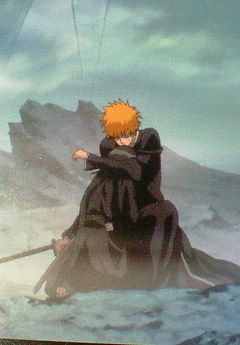 As IchiRuki ファン this scene is precious! Their bond is so strong!!!! Don't think Ichigo and Orihime will hug like that!