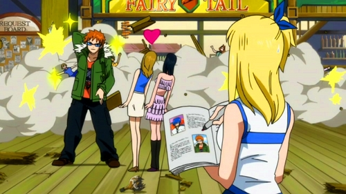 This Episode of Fairy Tail caught me off guard and had me laughing really hard.