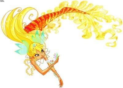 stella as mermaid