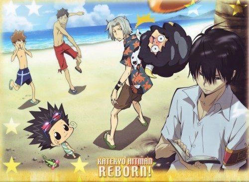 Reborn and the gang XD