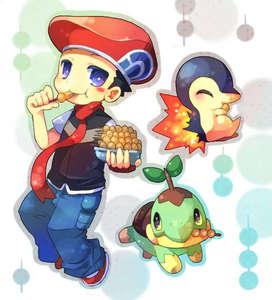 Diamond from Pokemon Adventures.
