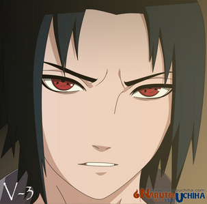 i hate him but uchiha sasuke from naruto