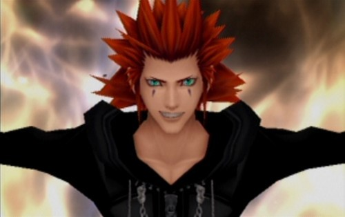 Currently? Axel from Kingdom Hearts and a guy that I like that I haven't seen in a while.