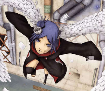 Does Konan count she does change into a Paper 天使