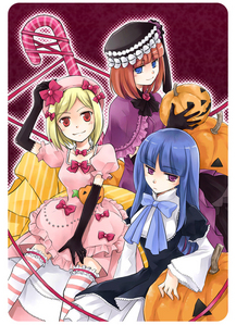 Here are 3 witches from Umineko! ^-^