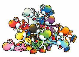 different yoshi and because the green one is the main yoshi that was with Mario .