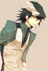 I like Kaburagi Kotetsu dressing style and hairstyle! :D