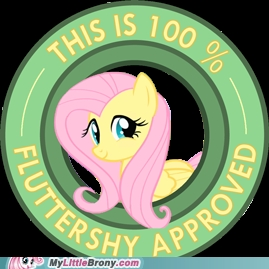 Fluttershy approves.