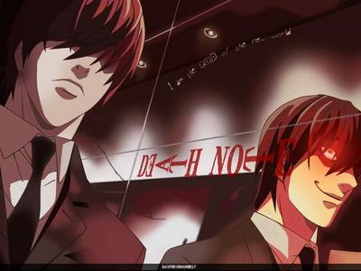 Light Yagami ~ Death Note. :)