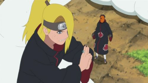 Does Deidara with his one pigtail count? xD ^_^