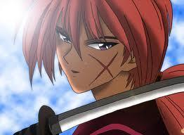 Kenshin Himura! He wields a reverse blade sword!