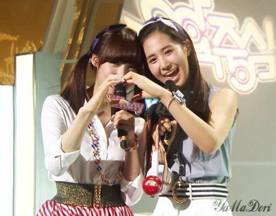I think Yuri's Best Friend in SNSD is Tiffany  ..
