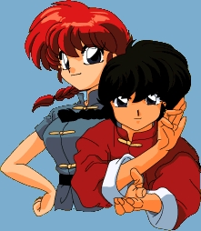 Ranma from Ranma1/2 has a pigtail girl and boy form