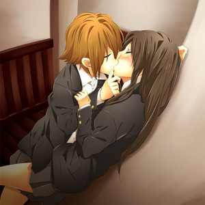 Yuri ftw! <3 Bask in the amazingness that is Ritsu and Mio x3