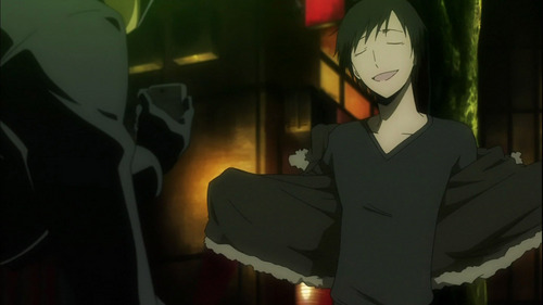 "#1 Izaya Orihara~ Everything about this 婊子, 子 is cool. When 你 look up cool in the dictionary you'll find a big Picture of Izaya Orihara along with the words ""Hot, Bitch, Troll, Sexy, Amazing""~ He has Haters, and Hell, Those Haters are Gonna Hate~ #2 Arthur Kirkland/Britain~ Look at those Sexy Eyebrows. If that doesn't say cool I don't know what does~ #3 Alfred F. Jones/America He's the Hero!~ (; #4 Anarchy Panty~ She uses a Damn Panty as a Gun~ A Lacy one in Fact~ (; #5 Anarchy Stocking~ She can eat all the sweets she wants, but she doesn't get fat; Her boobs just do~ xD"